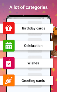 screenshot of Gifka : birthday cards, wishes and greetings version 18.6.0