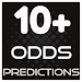10+ Odds Predictions