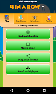 screenshot of 4 in a Row Online - Duel friends online! version 80