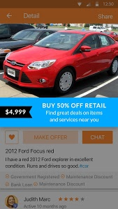 screenshot of 5miles: Buy and Sell Used Stuff Locally version 7.0.3