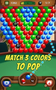 screenshot of 8 Ball Bubble version 2.1