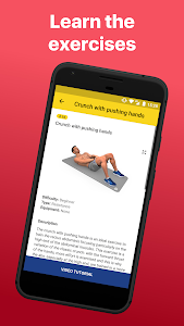 screenshot of Abs Workout - Daily Fitness version 4.6.7