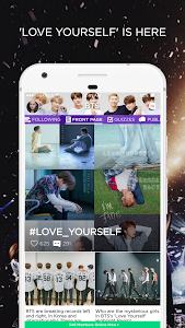 screenshot of ARMY Amino for BTS Stans version 1.8.19106