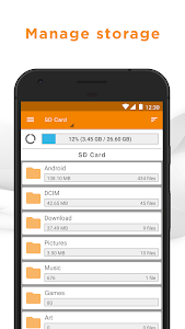 screenshot of File Manager by ASTRO (File Browser) version 7.8.1