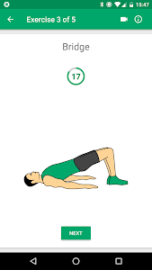 screenshot of Abs workout - 21 Day Fitness Challenge version 1.0.1.3