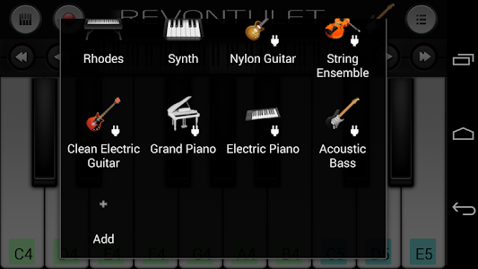 screenshot of Acoustic Bass Sound Plugin version 1.1