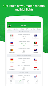 screenshot of All Football - Live Score, Soccer News, Videos version 2.0.2