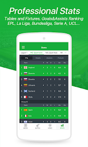 screenshot of All Football-Live Scores, News version 1.8.4