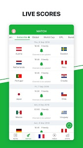 screenshot of All Football - Latest News & Live Scores version 3.0.7
