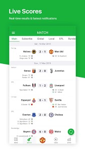 screenshot of All Football - Latest News & Live Scores version 3.2.0