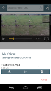 screenshot of All Video Downloader version Varies with device