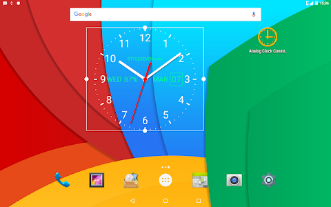screenshot of Analog Clock Live Wallpaper-7 version 4.1