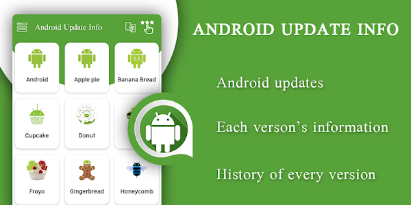 screenshot of Latest Versions Update Info For Android version 1.2.9