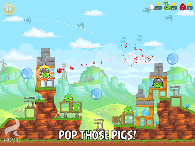 screenshot of Angry Birds version 4.2.1