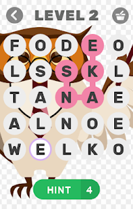 screenshot of Animal Scramble Word Find version 1.5.9z