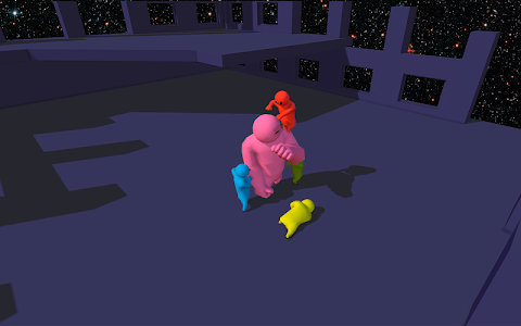screenshot of Anomal Gang Beasts version 1.2