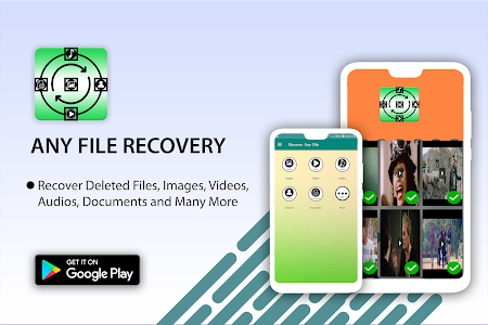screenshot of Any Deleted file Recover- All in one version 2.0