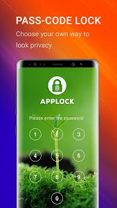 screenshot of Applock - Fingerprint Password version 1.27
