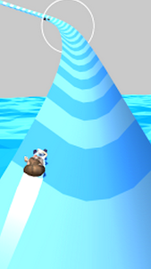 screenshot of Aquapark Sliding.io version 0.1
