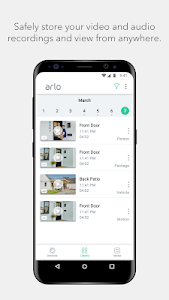 screenshot of Arlo version Varies with device