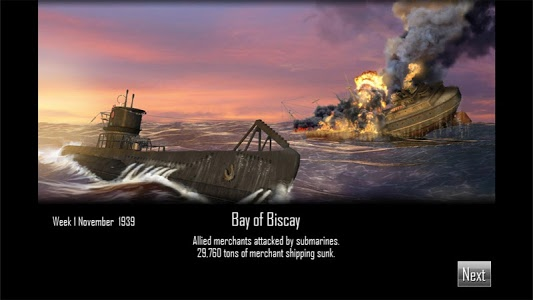 screenshot of Atlantic Fleet Lite version 1.12