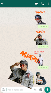 screenshot of Atta Halilintar Sticker WA - WAStickerApps version 1.0