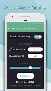 screenshot of Automatic Call Recorder & Hide App Pro - callBOX version 5.9