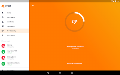 screenshot of Avast Antivirus – Mobile Security & Virus Cleaner version Varies with device