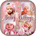 Baby Collage : Name, Card, Pics & Photo Frames
