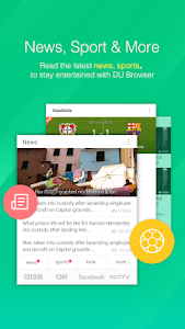screenshot of DU Browser—Browse fast & fun version 6.4.0.4
