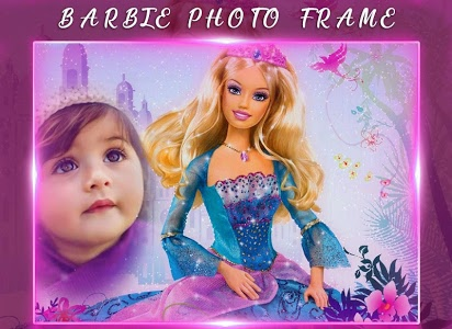 screenshot of Barbie doll photo frames : Disney doll Photo frame version 1.2.1