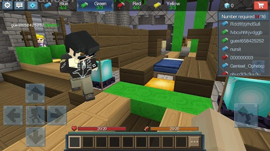 screenshot of Bed Wars version 1.7.3