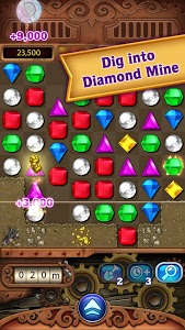 screenshot of Bejeweled Classic version Varies with device