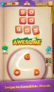 screenshot of Bible Word Puzzle - Free Bible Story Game version 1.5.0