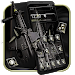 Download Black Machine Gun Theme 1.1.1 APK