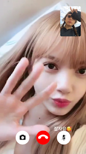 screenshot of Blackpink Call Me - Call With Blackpink Idol Prank version 1.0