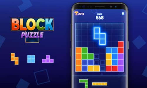 screenshot of Block Puzzle version 1.1.1