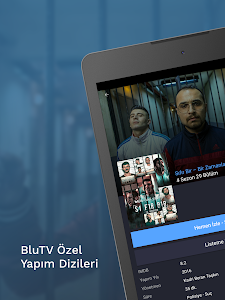 screenshot of BluTV version Varies with device
