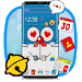 Download Blue Doremeow Cat Theme 1.1.2 APK