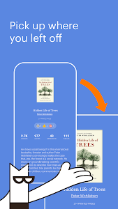 screenshot of Bookmate: Read. Listen. Enjoy. version Varies with device