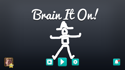 screenshot of Brain It On! - Physics Puzzles version 1.0.36