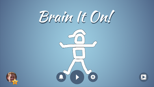 screenshot of Brain It On! - Physics Puzzles version 1.2.4