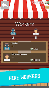 screenshot of Business Clicker: Evolution - Idle Tycoon Town version GPE - 1.1.1