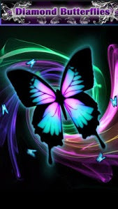 screenshot of Butterfly Fashion Wallpapers version 3.3