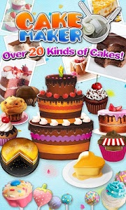 screenshot of Cake Maker 2-Cooking game version 2.0.5