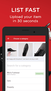 screenshot of Carousell: Snap-Sell, Chat-Buy version Varies with device