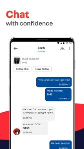 screenshot of Carousell: Snap-Sell, Chat-Buy version 2.141.522.394
