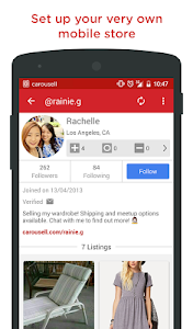screenshot of Carousell: Snap-Sell, Chat-Buy version 2.1.5