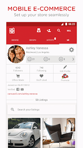 screenshot of Carousell: Snap-Sell, Chat-Buy version 2.7.1