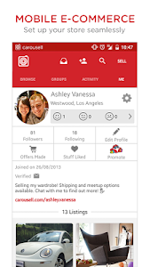 screenshot of Carousell: Snap-Sell, Chat-Buy version 2.3.1